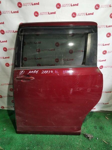 Дверь Toyota Noah ZRR70 задняя левая
