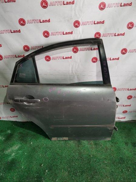 Дверь Mazda Atenza GG3S задняя правая