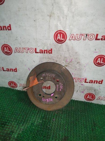 Диск тормозной Nissan Bluebird HU14 задний