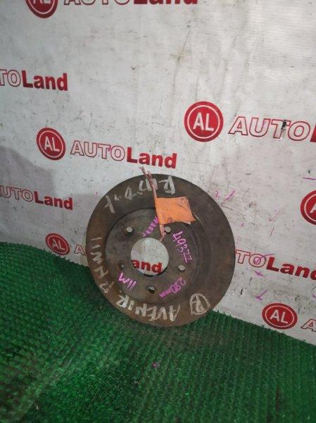 Диск тормозной Nissan Expert W11 задний