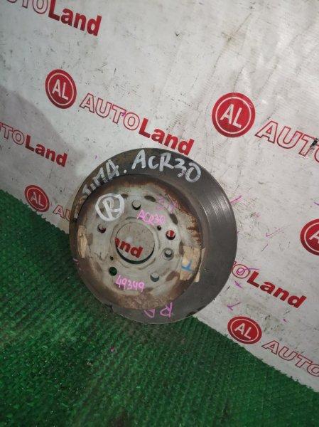 Диск тормозной Toyota Estima ACR30 задний