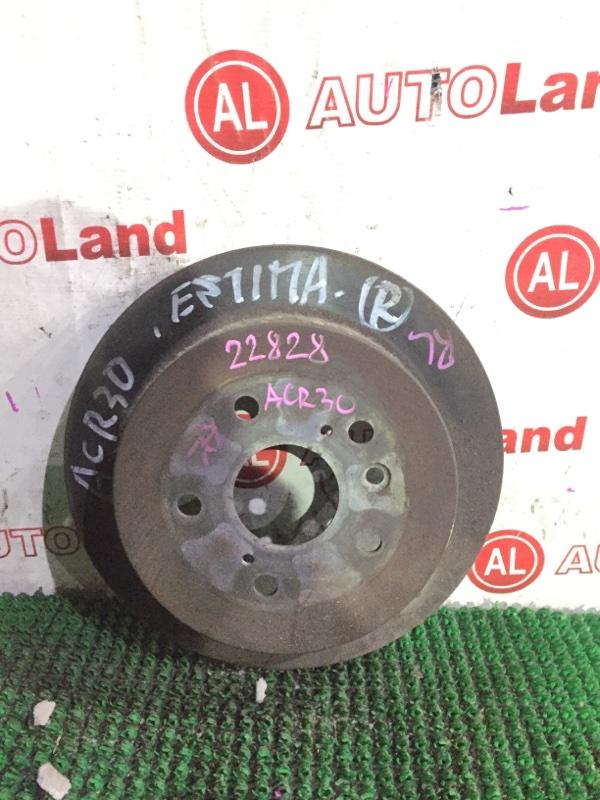 Тормозной диск Toyota Estima ACR30 задний