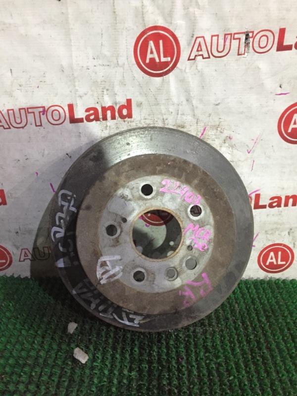 Тормозной диск Toyota Estima MCR30 задний
