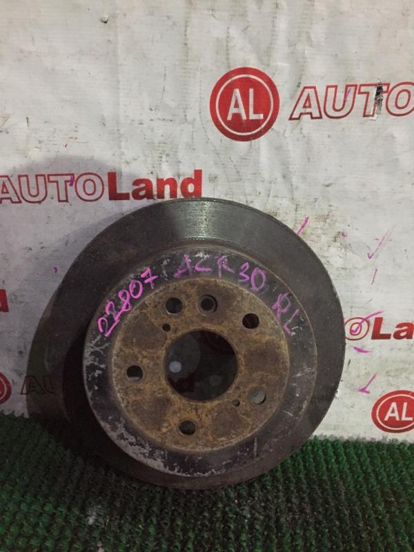 Тормозной диск Toyota Estima MCR40 задний