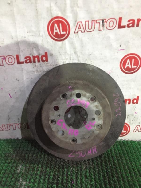Тормозной диск Toyota Markii JZX110 задний