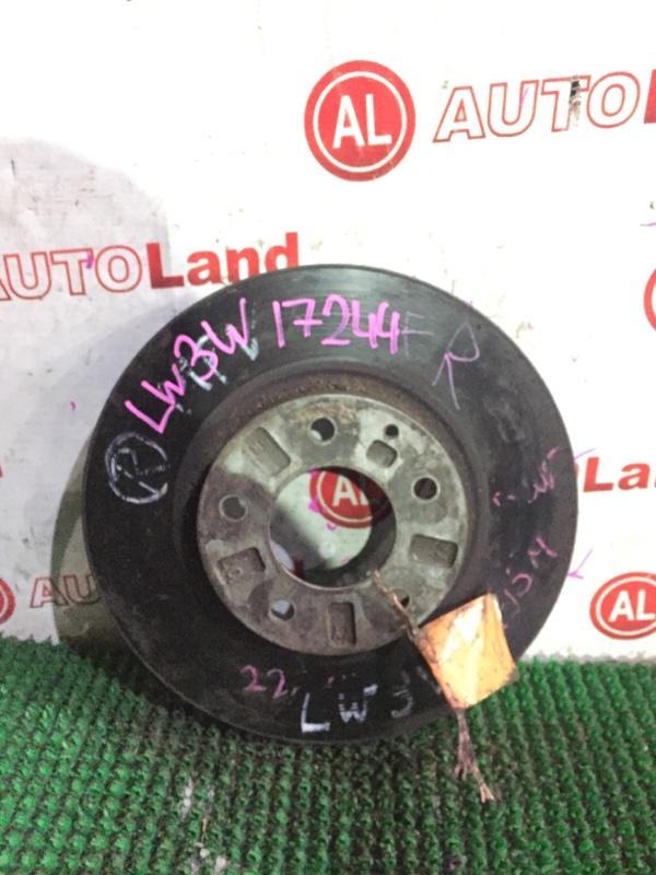 Диск тормозной Mazda Mpv LW5W передний