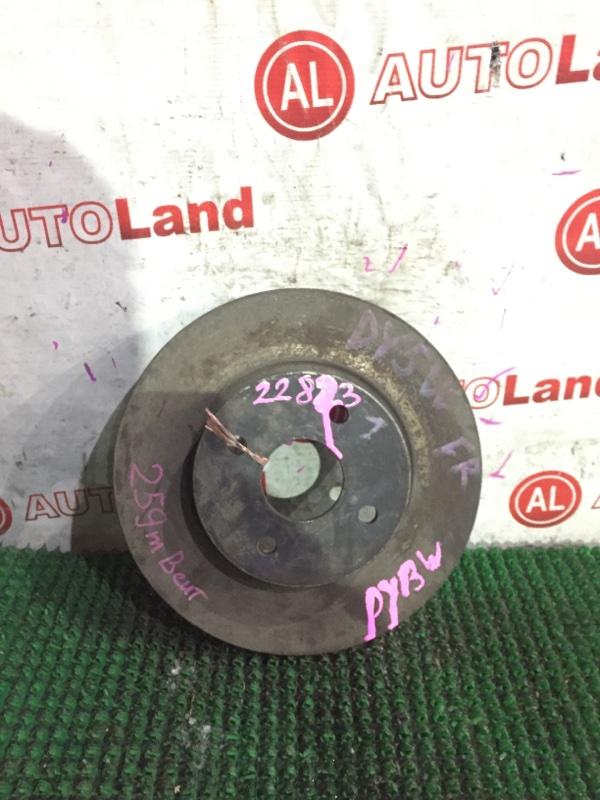 Тормозной диск Mazda Demio DY3W передний