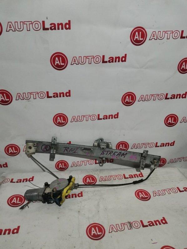 Стеклоподъемник Honda Stream RN1 передний левый