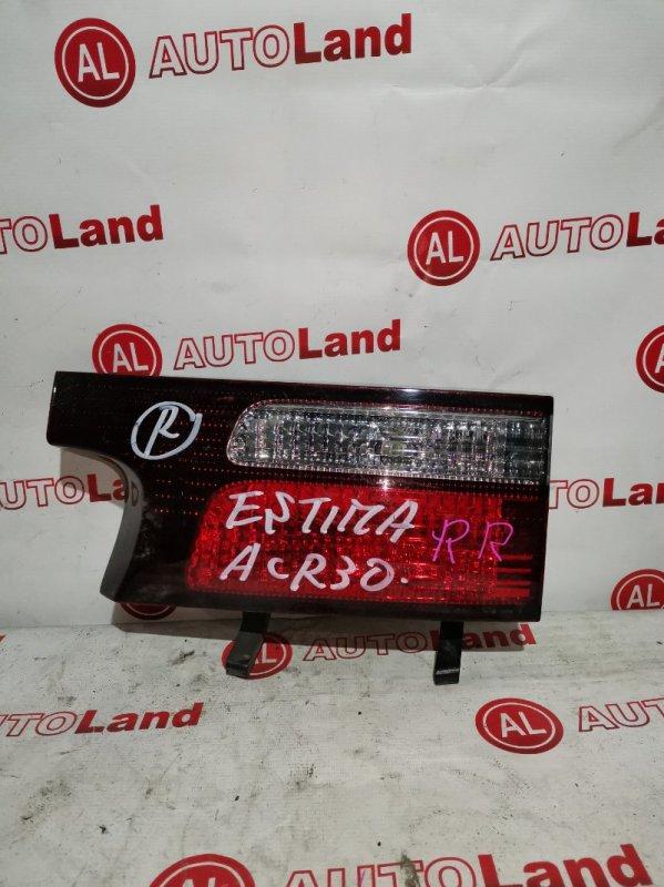 Вставка в крышку багажника Toyota Estima ACR30 задняя правая