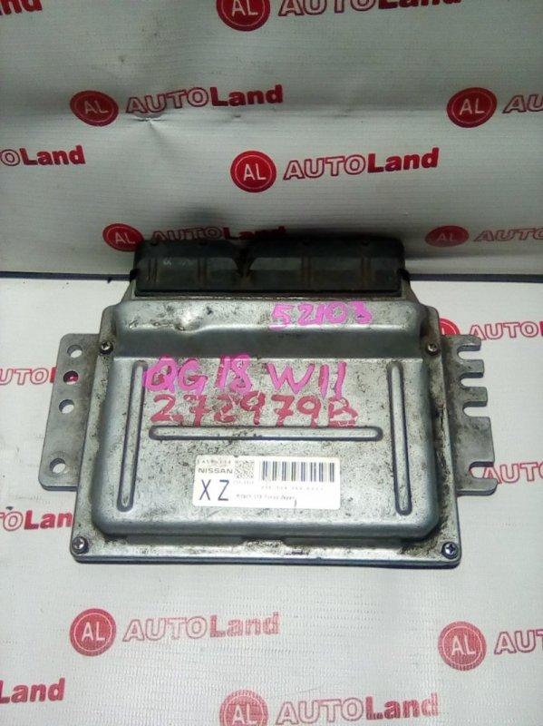 Блок управления двс Nissan Expert W11 QG18