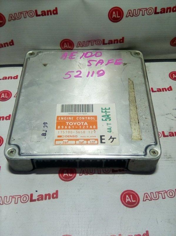 Блок управления двс Toyota Corolla AE100 5A-FE