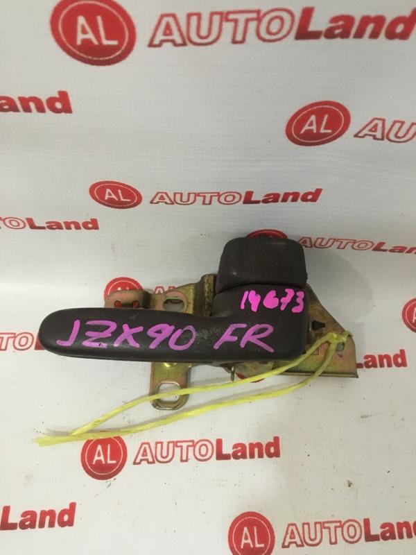Ручка двери внутреняя Toyota Markii JZX90 передняя правая