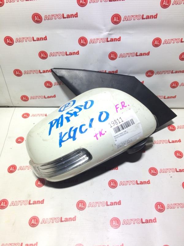 Зеркало Toyota Passo KGC10 переднее правое