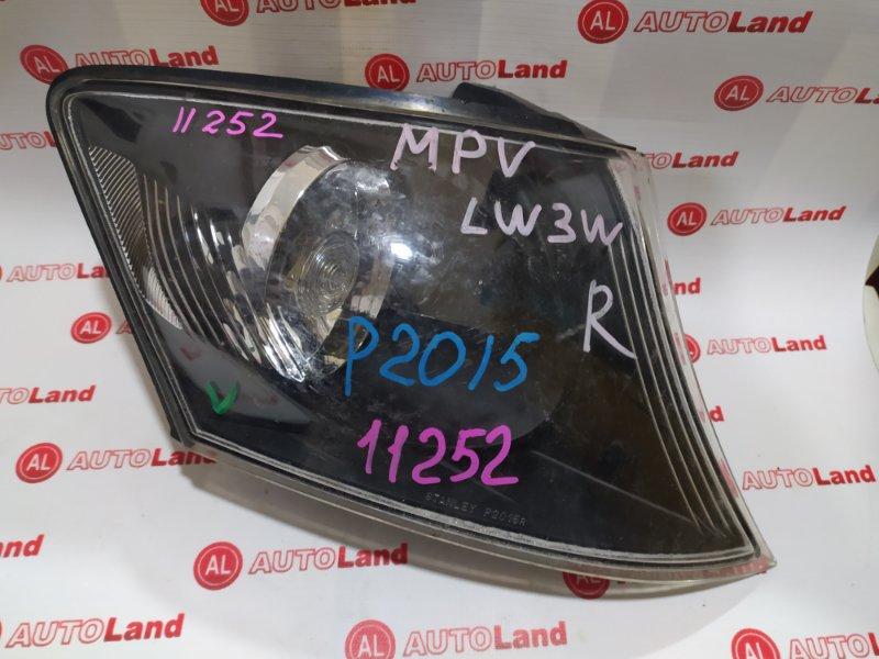 Габарит Mazda MPV LW3W передний правый