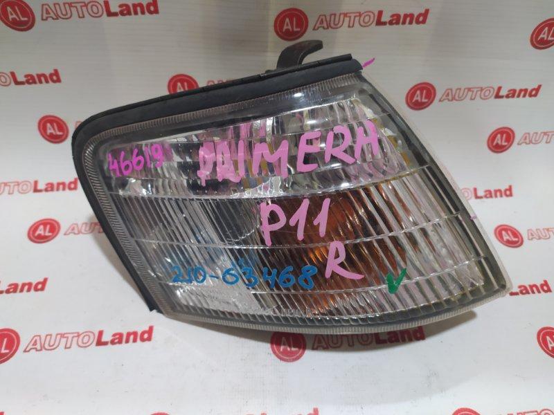 Габарит Nissan Primera P11 передний правый