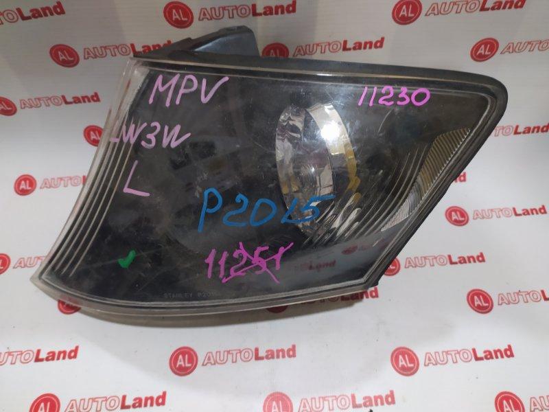 Габарит Mazda Mpv LW3W передний левый