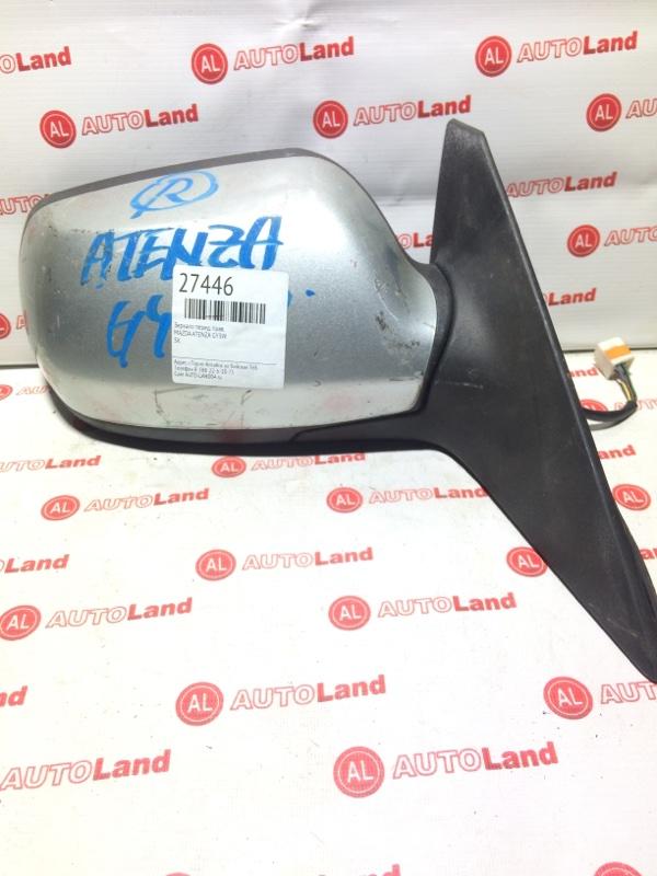 Зеркало Mazda Atenza GY3W переднее правое