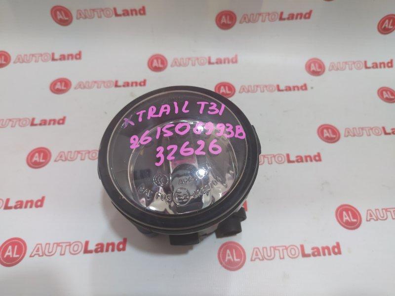 Противотуманная фара Nissan X-Trail T31 передняя левая