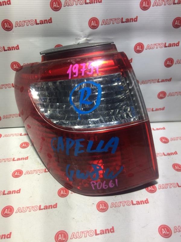 Стоп-сигнал Mazda Capella GW8W задний левый