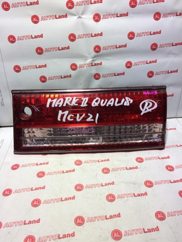 Вставка в крышку багажника Toyota Markii Qualis MCV21 задняя правая