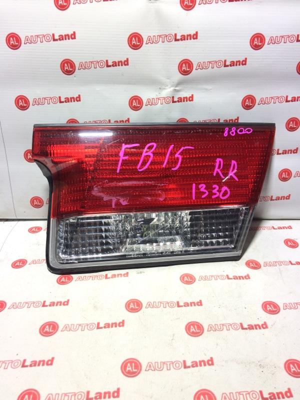 Вставка в крышку багажника Nissan Sunny FB15 задняя правая