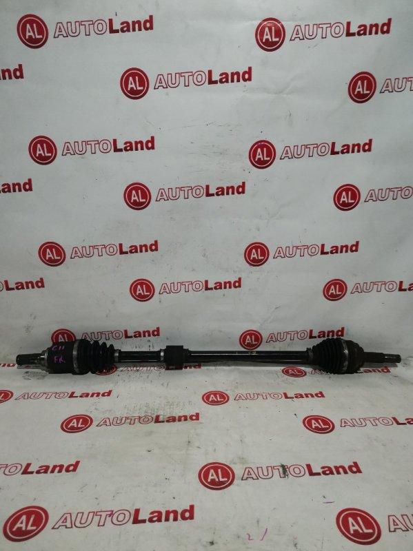 Привод Nissan Tiida C11 передний правый