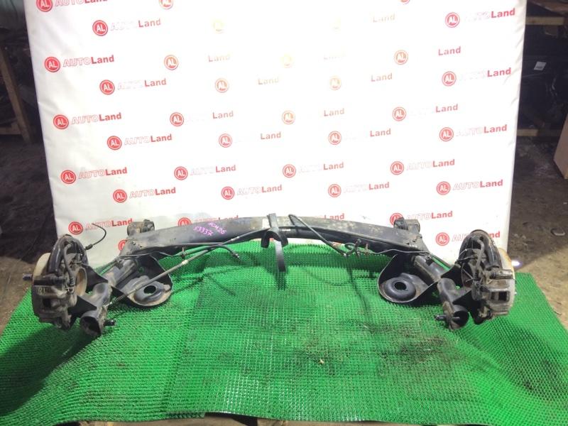 Задняя балка со ступицами Toyota Ipsum ACM26 задняя