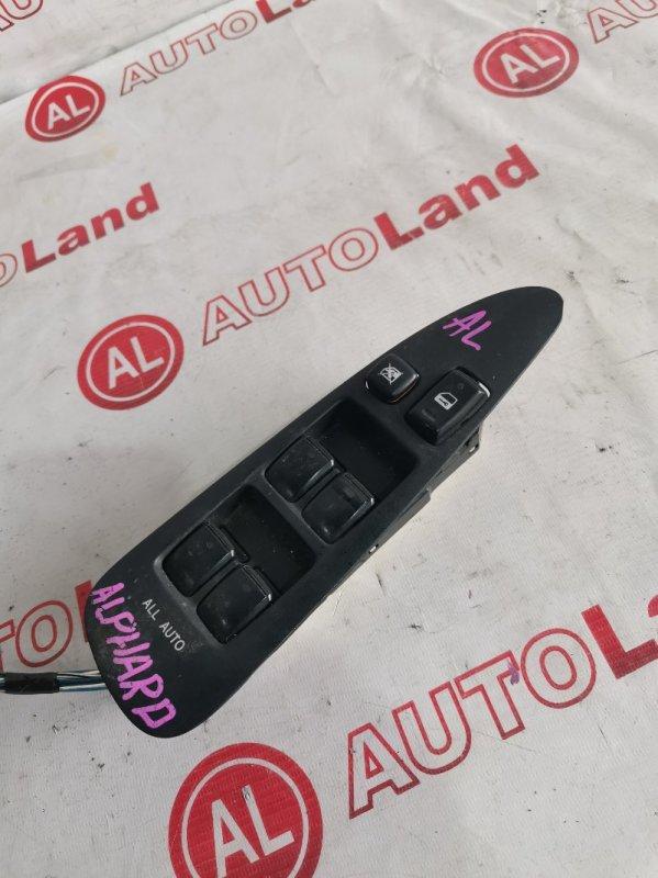 Блок управления стеклоподьемника Toyota Alphard ANH10 передний правый