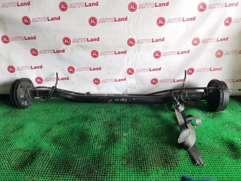 Задняя балка со ступицами Toyota Caldina CT197 задняя