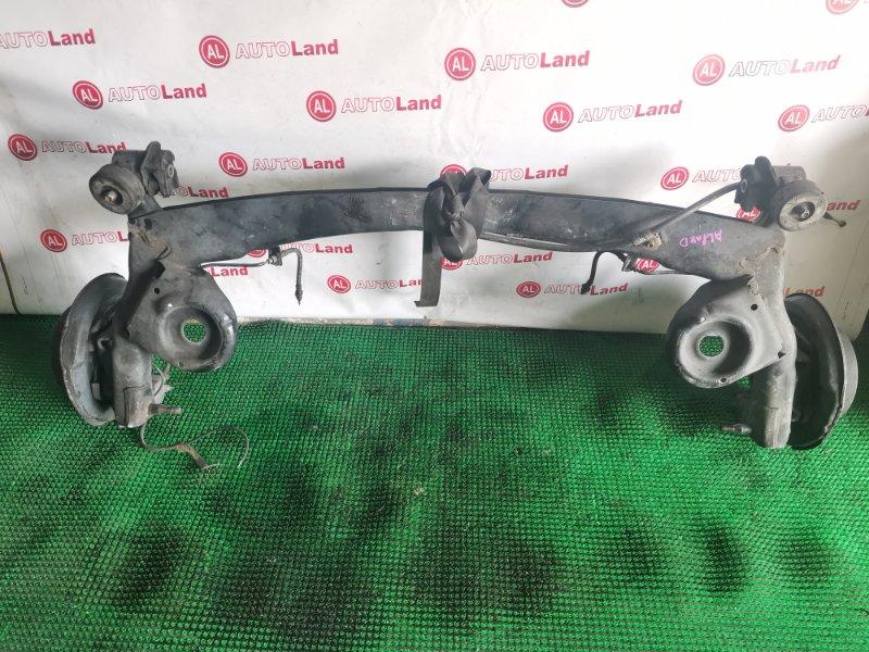 Задняя балка со ступицами Toyota Alphard ANH10 задняя