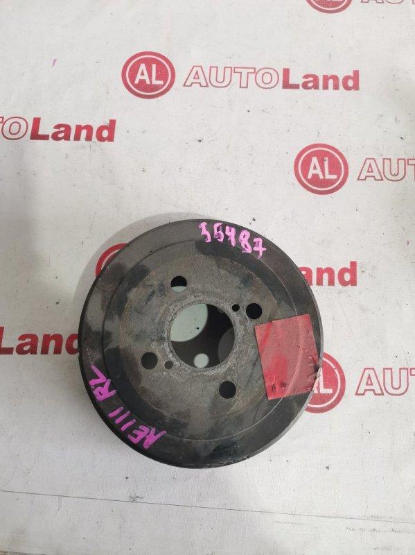 Тормозной барабан Toyota Corolla Spacio AE111 задний левый