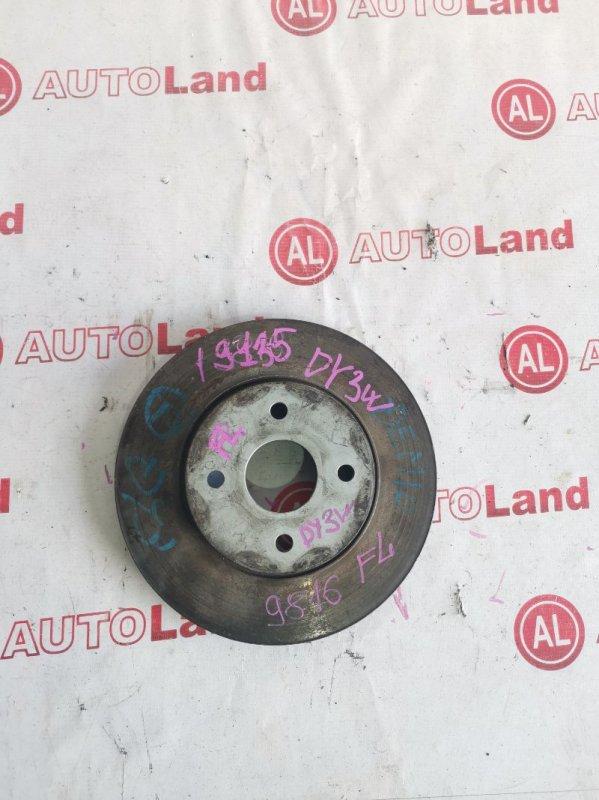 Диск тормозной Mazda Demio DY3W ZJ передний