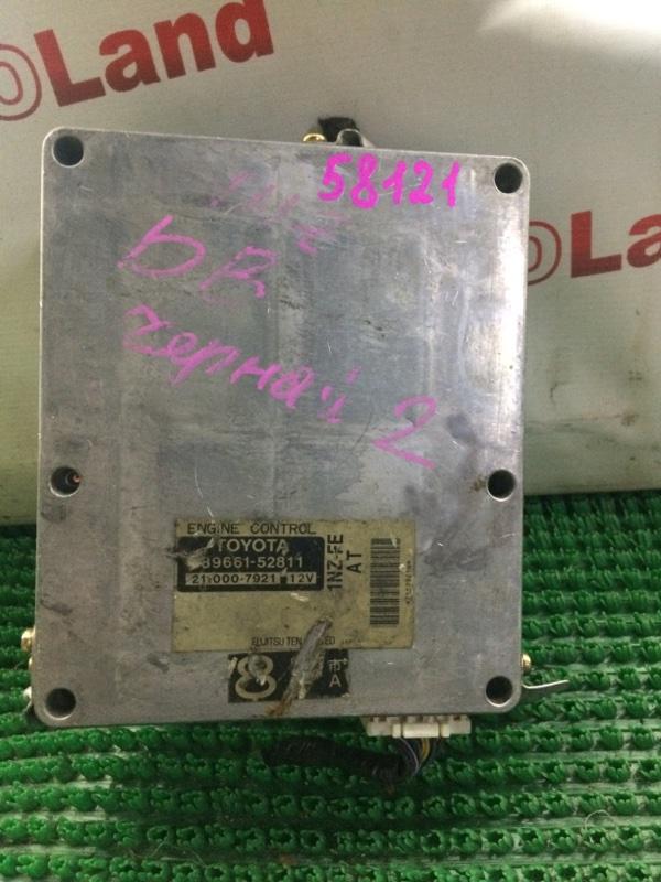 Блок управления двс Toyota Bb NCP31 1NZ FE