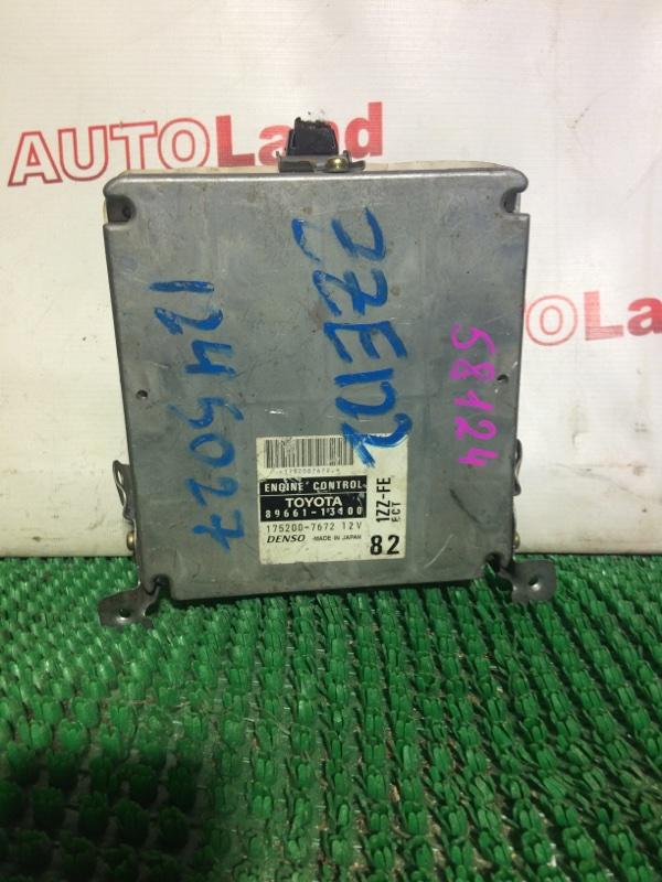 Блок управления двс Toyota Corolla Spacio ZZE121 1ZZ-FE