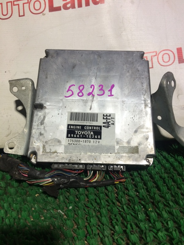 Блок управления двс Toyota Corolla AE114 4A-FE
