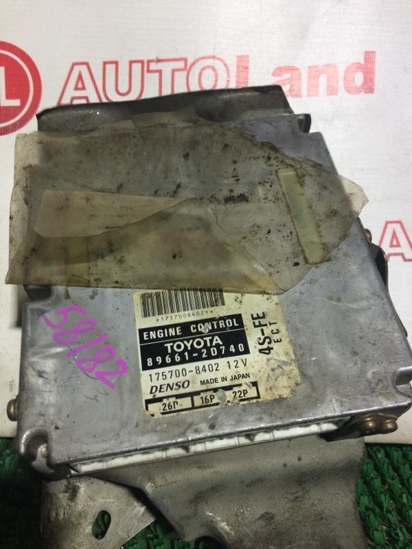 Блок управления двс Toyota Carina Ed ST200 4S-FE