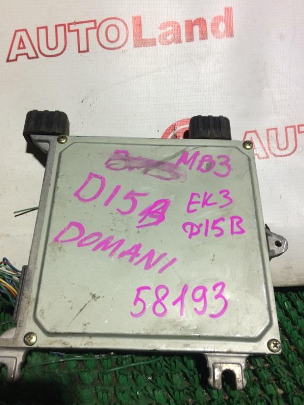 Блок управления двс Honda Civic EK3 D15B