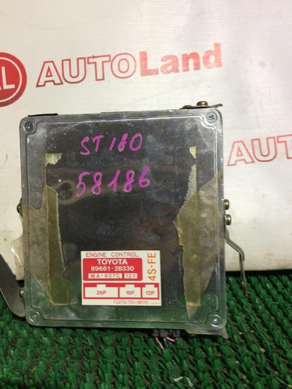 Блок управления двс Toyota Corona Exiv ST180 4S-FE