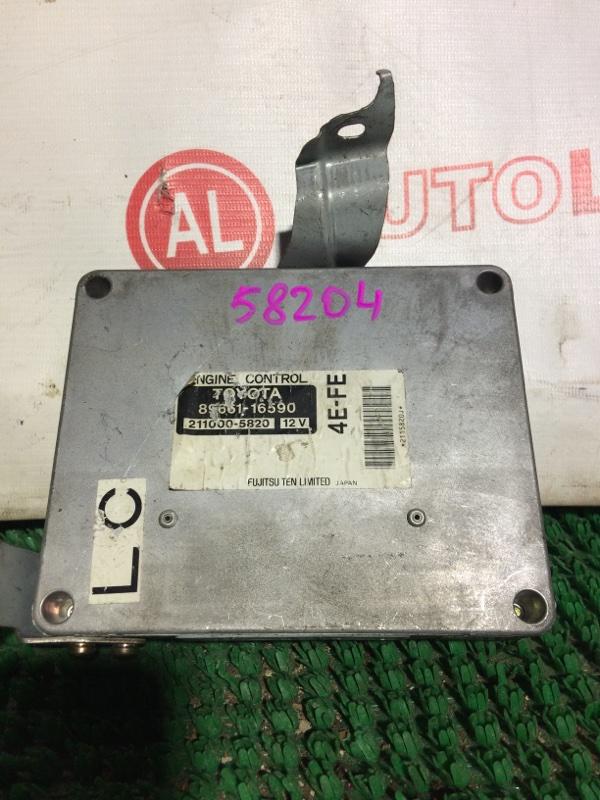 Блок управления двс Toyota Corsa EL51 4E-FE