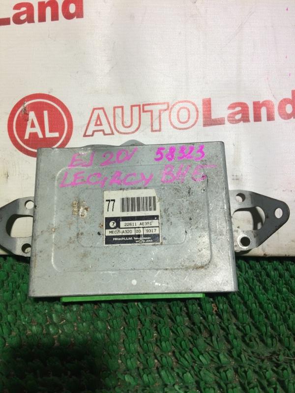 Блок управления акпп Subaru Legacy BH5 EJ201