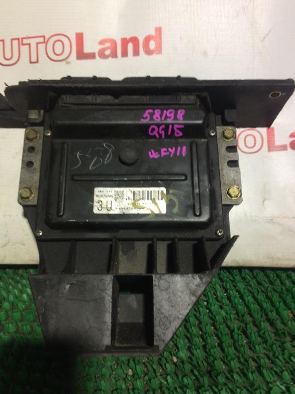 Блок управления двс Nissan Wingroad WFY11 QG15