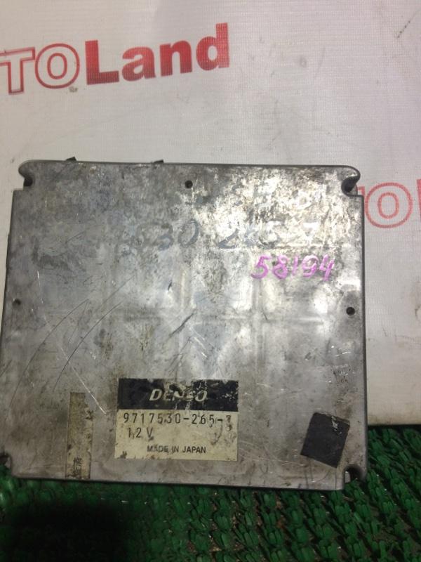Блок управления двс Toyota Nadia SXN10 3S-FSE
