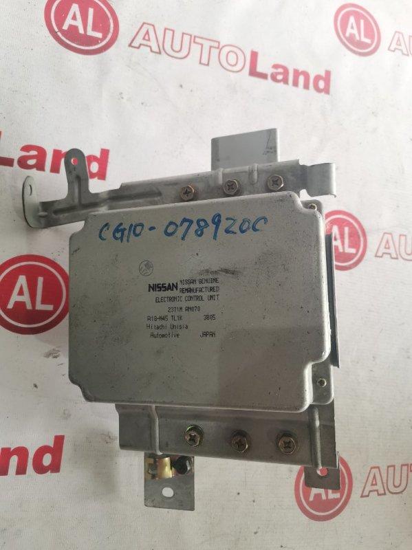 Блок управления двс Nissan Cube AZ10 CG10