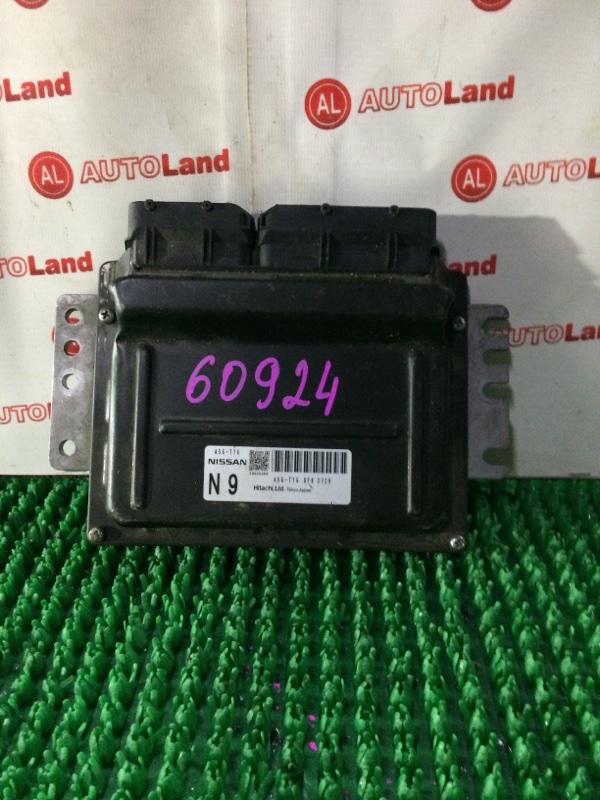 Блок управления двс Nissan Liberty RM12 QR20