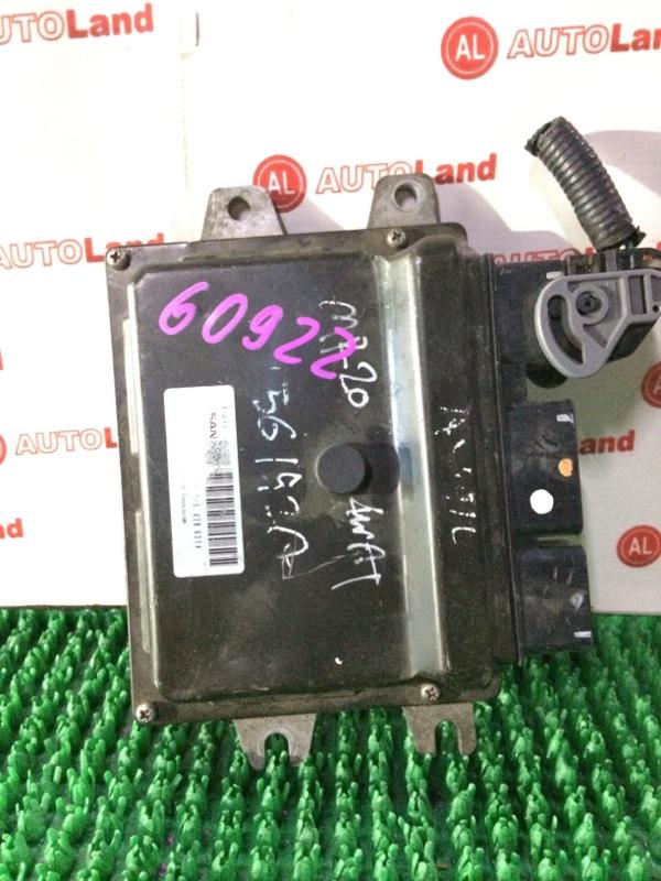 Блок управления двс Nissan Lafesta B30 MR20