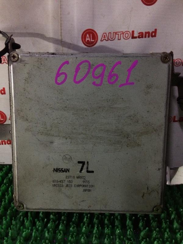 Блок управления двс Nissan Avenir PW11 SR20