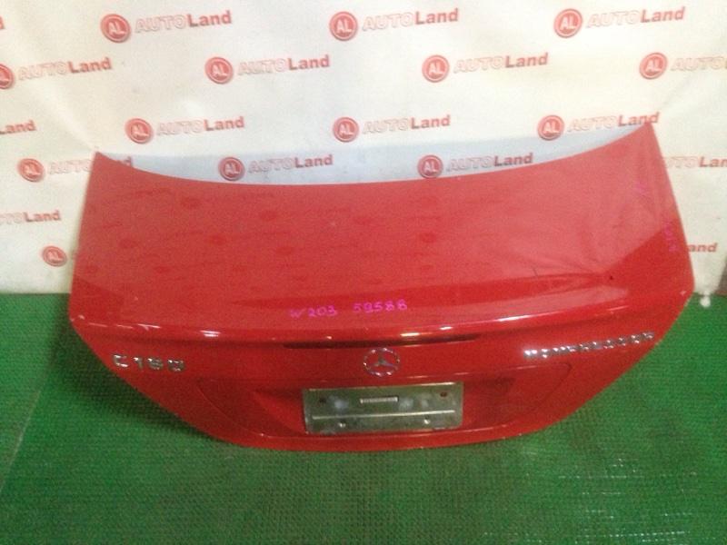 Крышка багажника Mercedes-Benz C180 Kompressor W203