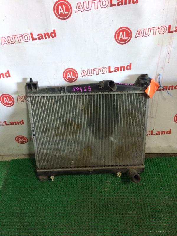 Радиатор основной Toyota Sienta NCP81 1NZ-FE