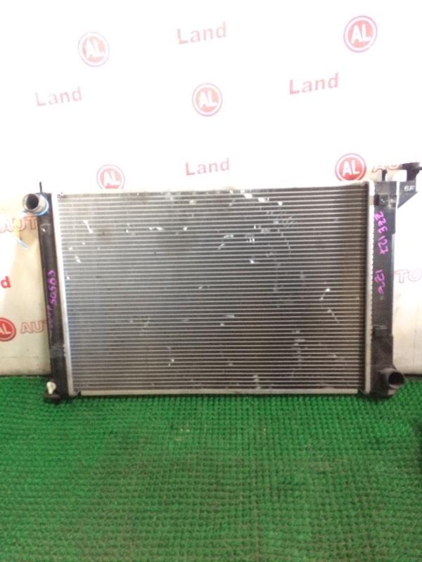 Радиатор основной Toyota Will Vs ZZE127 1ZZ-FE