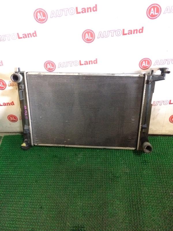 Радиатор основной Toyota Isis ZGM10 2ZR-FAE